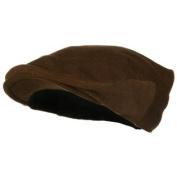 Big Wool Velvet Ivy Cap - Brown 2XL-3XL W07S33F