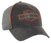 Harley-Davidson Men's Nostalgic Bar & Shield Baseball Cap BC31380