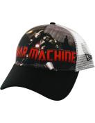 Iron Man War Machine Blast Trucker Men's 9FORTY Baseball Cap