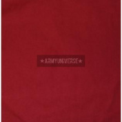 Red Solid Colour Bandana 22 & quot; x 22 & quot;Solid