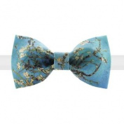 Apricot Blossom Bow Tie Fashion Neckties For Men & Boys Casual/Formal Wear