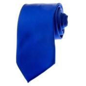 TopTie Mens Necktie Solid Colour Royal Blue Ties Formal Neck ties Gift Ideas