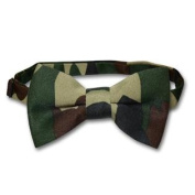 Men's Green Army Camouflage BOWTie Military Men's Bow Tie
