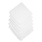 Unisex Cotton White Handkerchiefs
