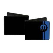 Mopar Automotive Part Company Blue Logo Stripes Bi-Fold Wallets