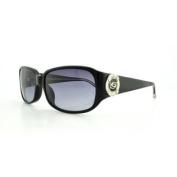 BEBE Sunglasses BB7091 001 Jet 58MM