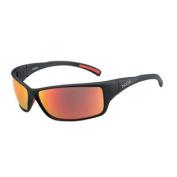 Bolle Slice Sunglasses - Matte Black Frame - TNS Fire Lens - 12129