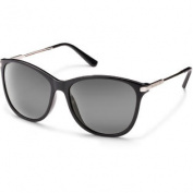 Suncloud Optics Nightcap Sunglasses - Black Frame - Polarised Grey Lens - S-NIPPGYBK