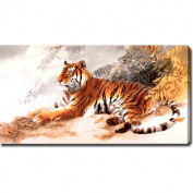 'Tiger' Giclee Print Canvas Art