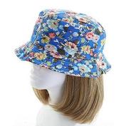 Fashion Floral Women's Bucket Sun Hat