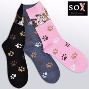 Dog Lover Women's Cotton Crew Socks