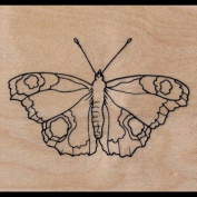 """Wooden stamp """"Butterfly"""""""