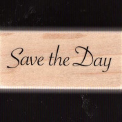 """Wooden stamp """"Save the Day"""""""
