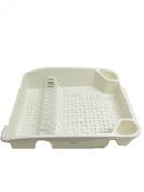 New Whitefurze Kitchen Sink Plastic Dish & Cutlery Drainer Plates