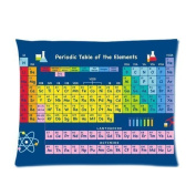 Periodic Table Pillowcase Custom Throw Pillow cover 20x36 Zippered Pillow Case Two Sides Picture Printed Soft Cotton Comfortable