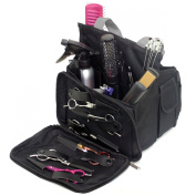 BLACK Hairdressing Tool Bag Carry Case Perfect for Hairdresser/Barber/Salon Accessories Storage/Session