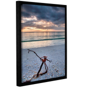 ArtWall Steve Ainsworth 'The Storm' Gallery-wrapped Floater-framed Canvas