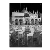 Moises Levy 'Chairs In San Marco' Canvas Art