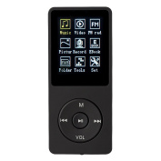 Lychee MP3 Player 70 Hours Music Playback MP3 Lossless Sound Entry Hi-Fi 8GB Music MP4 Player