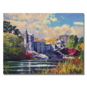 David Lloyd Glover 'Belvedere Castle Central Park' Canvas Art