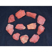 Gifts and Guidance Red Jasper Rough Raw Gemstone Crystal Chunks X 10 Pieces