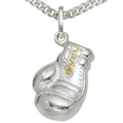 JOBO Boxing Glove Pendant 925 Sterling Silver