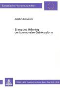 Erfolg Und Misserfolg Der Kommunalen Gebietsreform [GER]