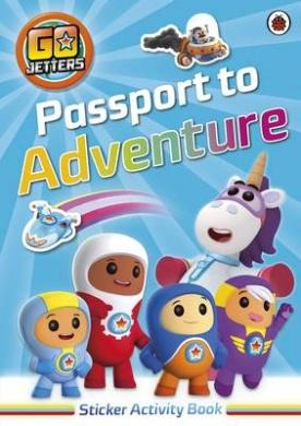Go Jetters: Passport to Adventure! Sticker Activity Book (Go Jetters)