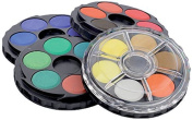 Koh-i-noor 2 x 24 Colour Watercolours Wheel Stack Pack. 0171506.