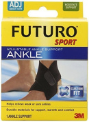 Futuro Sport Adjustable Ankle, Moderate Support, Adjustable (Pack of 2) by Futuro