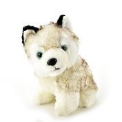 Husky Dog Plush Stuffed Animal Toy 18cm