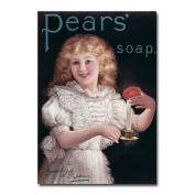 'Pears Soap' Canvas Art