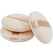 Joly Powder Puff for Makeup Face Powder Set of 5