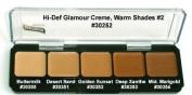 Graftobian HD Glamour Creme Palette, Warm #2 by Graftobian
