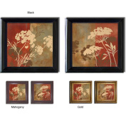 Lanie Loreth 'Among the Flowers' Framed Canvas 2-piece Art Set