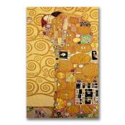 Gustav Klimt 'Fulfilment' Canvas Giclee Art