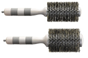 Fromm V Shape Thermal Round with Sectioning Pick Ionic Nylon Bristles - Get 2 brushes