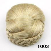 Hair Chignon Synthetic Hair Bun Hairpiece Clip-In Hair Buns Hair Pieces Bun