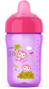 Philips Avent My Sip-n-Click Cup, Pink/Purple, 350ml