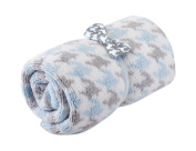 Nat and Jules Chenille Blanket and Bow Tie Set