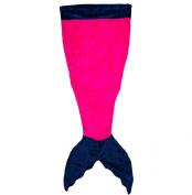 Mermaid Blanket Tails- Minky Fleece blanket/bags for Kids Pink/Blue
