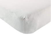 Touched by Nature Organic Cotton Fitted Crib Sheet, Grey