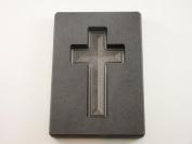 150ml Gold Custom Cross High Density Graphite Mould 90ml Silver Necklace 5.1cm - 1.9cm