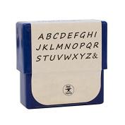 2 MM Highlands Uppercase Alphabet Letter Stamp Set for Stamping Metal Jewellery