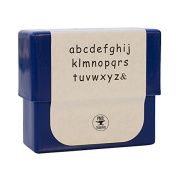 3 MM Siena Lowercase Alphabet Letter Stamp Set for Stamping Metal Jewellery