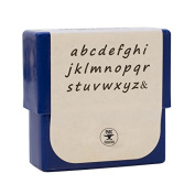 2 MM Highlands Lowercase Alphabet Letter Stamp Set for Stamping Metal Jewellery