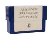 6 MM Monogram Uppercase Alphabet Letter Stamp Set for Stamping Metal Jewellery
