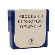 2 MM Aras Uppercase Alphabet Letter Stamp Set for Stamping Metal Jewellery