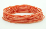 CORAL 1mm Waxed Polyester Twisted Cord Macrame Bracelet Thread Artisan String