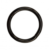 Amanaote Gun Black 3cm Inner Diameter O Ring Non Welded Pack of 8